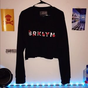 Brooklyn crew neck (crop)